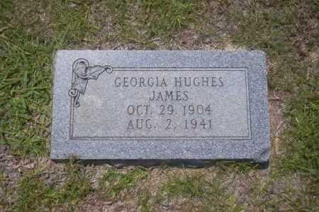 HUGHES JAMES, GEORGIA - Union County, Arkansas | GEORGIA HUGHES JAMES - Arkansas Gravestone Photos