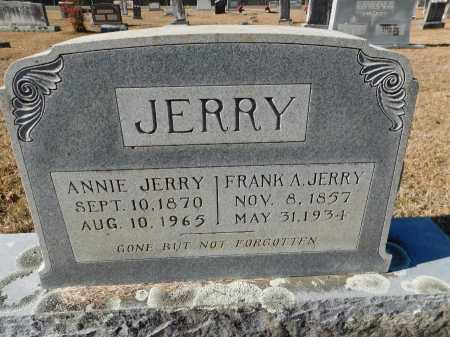 JERRY, ANNIE - Union County, Arkansas | ANNIE JERRY - Arkansas Gravestone Photos