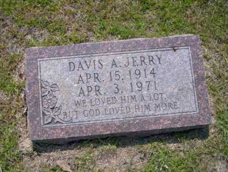 JERRY, DAVIS A - Union County, Arkansas | DAVIS A JERRY - Arkansas Gravestone Photos