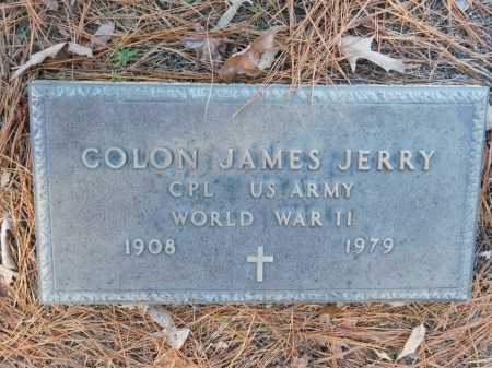 JERRY (VETERAN WWII), COLON JAMES - Union County, Arkansas | COLON JAMES JERRY (VETERAN WWII) - Arkansas Gravestone Photos