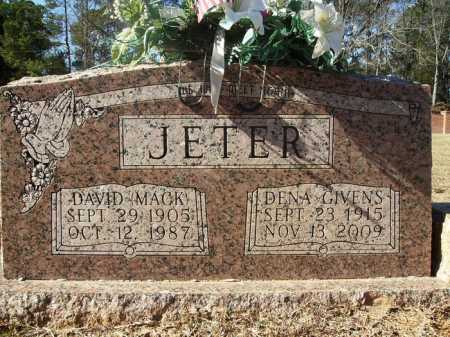 JETER, DENA - Union County, Arkansas | DENA JETER - Arkansas Gravestone Photos