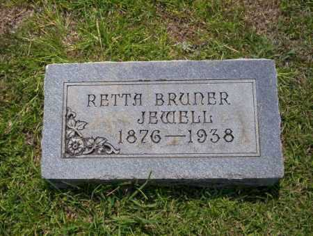 BRUNER JEWELL, RETTA - Union County, Arkansas | RETTA BRUNER JEWELL - Arkansas Gravestone Photos