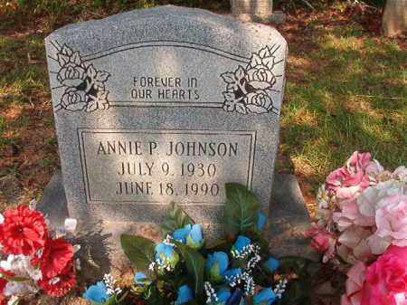 JOHNSON, ANNIE P - Union County, Arkansas | ANNIE P JOHNSON - Arkansas Gravestone Photos