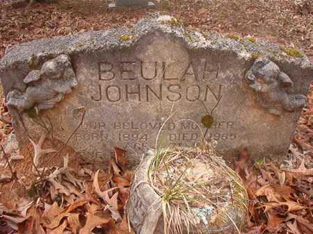 JOHNSON, BEULAH - Union County, Arkansas | BEULAH JOHNSON - Arkansas Gravestone Photos