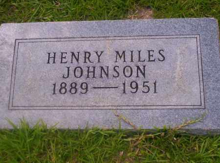 JOHNSON, HENRY MILES - Union County, Arkansas | HENRY MILES JOHNSON - Arkansas Gravestone Photos