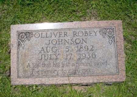 JOHNSON, OLLIVER ROBEY - Union County, Arkansas | OLLIVER ROBEY JOHNSON - Arkansas Gravestone Photos