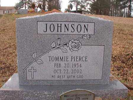 JOHNSON, TOMMIE PIERCE - Union County, Arkansas | TOMMIE PIERCE JOHNSON - Arkansas Gravestone Photos