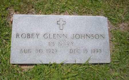 JOHNSON (VETERAN), ROBEY GLENN - Union County, Arkansas   ROBEY GLENN JOHNSON (VETERAN) - Arkansas Gravestone Photos