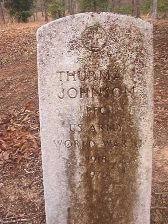 JOHNSON (VETERAN WWII), THURMAN - Union County, Arkansas | THURMAN JOHNSON (VETERAN WWII) - Arkansas Gravestone Photos