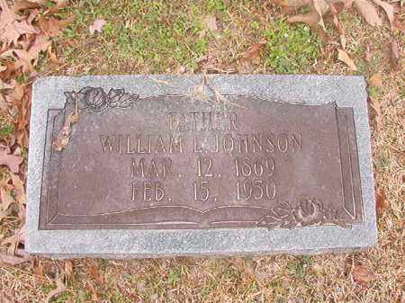 JOHNSON, WILLIAM L - Union County, Arkansas | WILLIAM L JOHNSON - Arkansas Gravestone Photos
