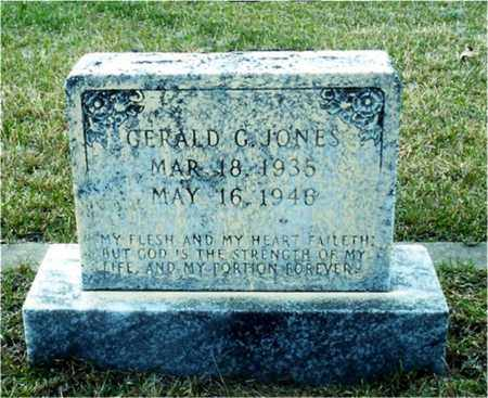 JONES, GERALD G - Union County, Arkansas | GERALD G JONES - Arkansas Gravestone Photos