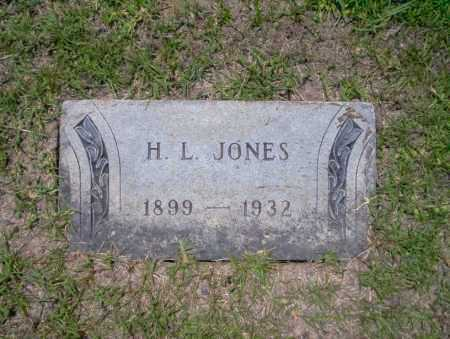 JONES, H.L. - Union County, Arkansas | H.L. JONES - Arkansas Gravestone Photos