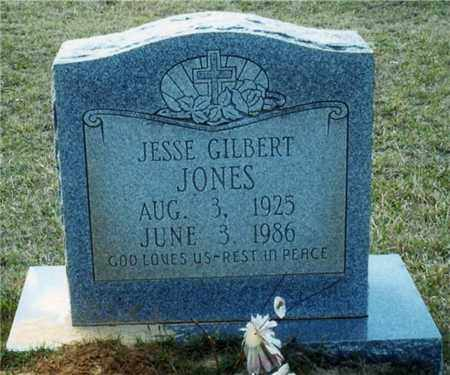 JONES, JESSE GILBERT - Union County, Arkansas | JESSE GILBERT JONES - Arkansas Gravestone Photos