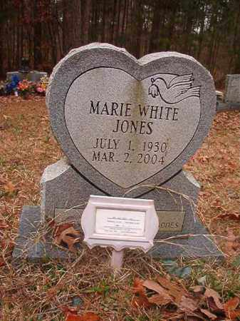 JONES, MARIE - Union County, Arkansas | MARIE JONES - Arkansas Gravestone Photos