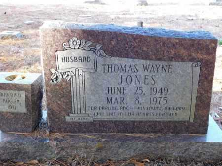 JONES, THOMAS WAYNE - Union County, Arkansas | THOMAS WAYNE JONES - Arkansas Gravestone Photos