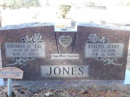 JONES, THOMAS D - Union County, Arkansas | THOMAS D JONES - Arkansas Gravestone Photos