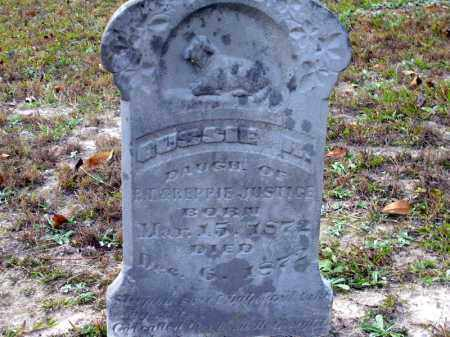 JUSTICE, GUSSIE R - Union County, Arkansas | GUSSIE R JUSTICE - Arkansas Gravestone Photos