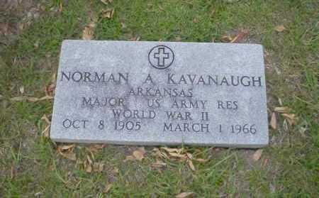 KAVANAUGH  (VETERAN WWII), NORMAN A - Union County, Arkansas | NORMAN A KAVANAUGH  (VETERAN WWII) - Arkansas Gravestone Photos