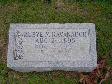 KAVANAUGH, RUBYE M - Union County, Arkansas | RUBYE M KAVANAUGH - Arkansas Gravestone Photos