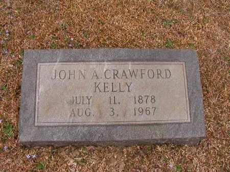 KELLY, JOHN A CRAWFORD - Union County, Arkansas | JOHN A CRAWFORD KELLY - Arkansas Gravestone Photos