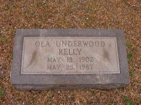 KELLY, OLA - Union County, Arkansas | OLA KELLY - Arkansas Gravestone Photos
