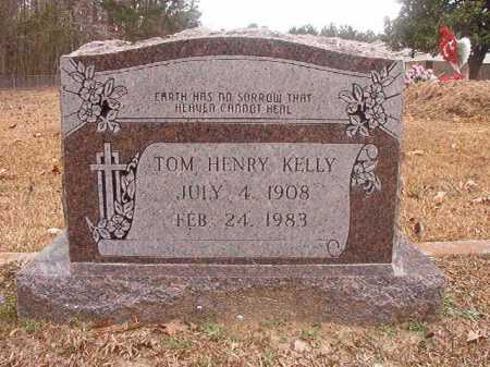 KELLY, TOM HENRY - Union County, Arkansas | TOM HENRY KELLY - Arkansas Gravestone Photos
