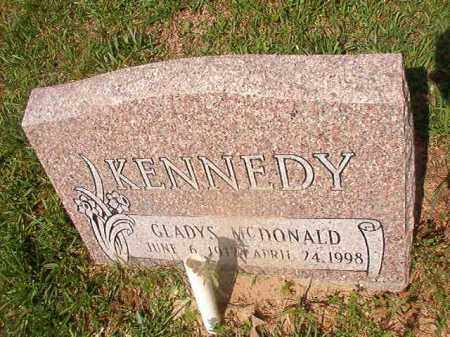 MCDONALD KENNEDY, GLADYS - Union County, Arkansas | GLADYS MCDONALD KENNEDY - Arkansas Gravestone Photos