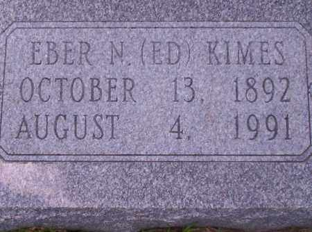 KIMES, EBER N - Union County, Arkansas | EBER N KIMES - Arkansas Gravestone Photos
