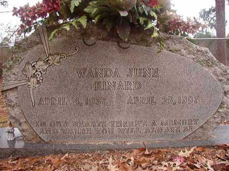 KINARD, WANDA JUNE - Union County, Arkansas | WANDA JUNE KINARD - Arkansas Gravestone Photos