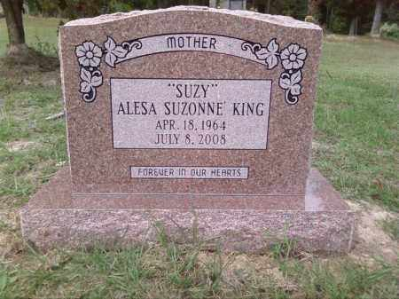 KING, ALESA SUZONNE - Union County, Arkansas | ALESA SUZONNE KING - Arkansas Gravestone Photos