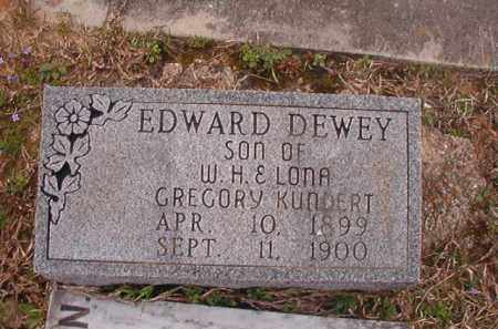 KUNDERT, EDWARD DEWEY - Union County, Arkansas | EDWARD DEWEY KUNDERT - Arkansas Gravestone Photos