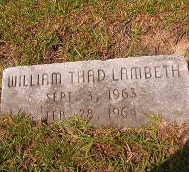 LAMBETH, WILLIAM THAD - Union County, Arkansas | WILLIAM THAD LAMBETH - Arkansas Gravestone Photos
