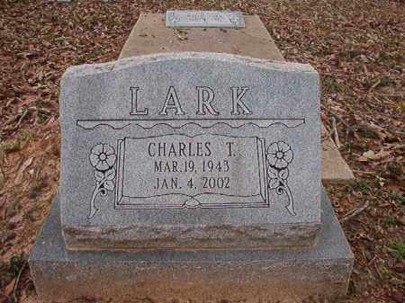 LARK, CHARLES T - Union County, Arkansas | CHARLES T LARK - Arkansas Gravestone Photos