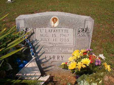 LARRY, LAFAYETTE - Union County, Arkansas | LAFAYETTE LARRY - Arkansas Gravestone Photos