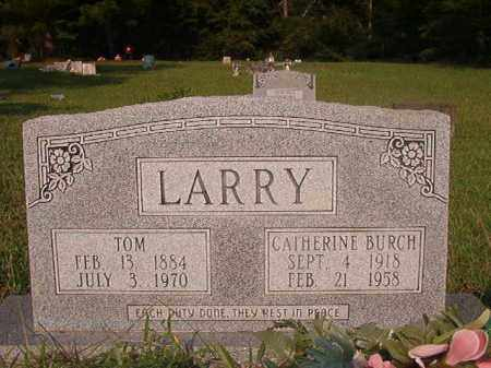 BURCH LARRY, CATHERINE - Union County, Arkansas | CATHERINE BURCH LARRY - Arkansas Gravestone Photos