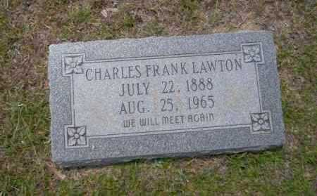 LAWTON, CHARLES FRANK - Union County, Arkansas | CHARLES FRANK LAWTON - Arkansas Gravestone Photos