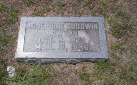 GOODWIN LAWTON, JOSEPHINE - Union County, Arkansas | JOSEPHINE GOODWIN LAWTON - Arkansas Gravestone Photos