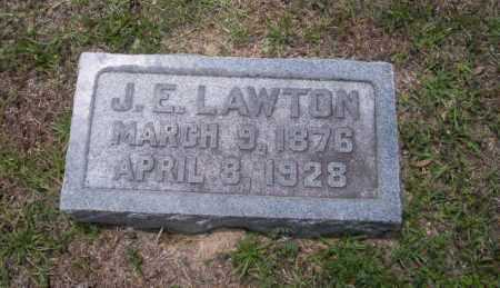 LAWTON, J.E. - Union County, Arkansas | J.E. LAWTON - Arkansas Gravestone Photos