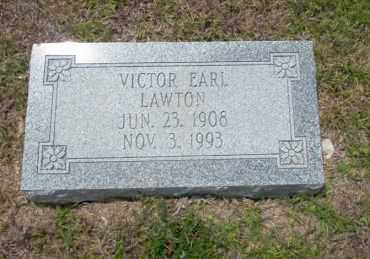 LAWTON, VICTOR EARL - Union County, Arkansas | VICTOR EARL LAWTON - Arkansas Gravestone Photos