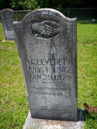 LEVERETT, N.C. - Union County, Arkansas | N.C. LEVERETT - Arkansas Gravestone Photos