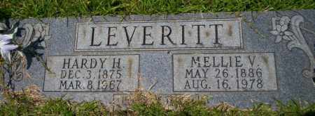 LEVERITT, HARDY H - Union County, Arkansas | HARDY H LEVERITT - Arkansas Gravestone Photos