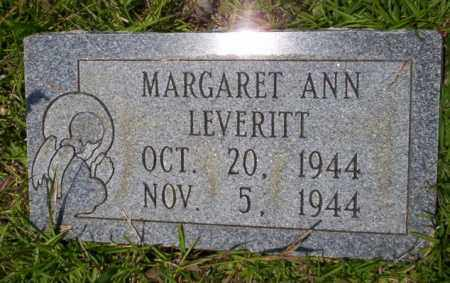 LEVERITT, MARGARET ANN - Union County, Arkansas | MARGARET ANN LEVERITT - Arkansas Gravestone Photos