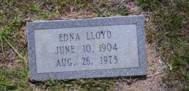 LLOYD, EDNA - Union County, Arkansas | EDNA LLOYD - Arkansas Gravestone Photos