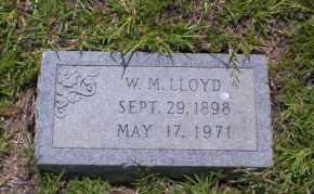 LLOYD, W.M. - Union County, Arkansas | W.M. LLOYD - Arkansas Gravestone Photos