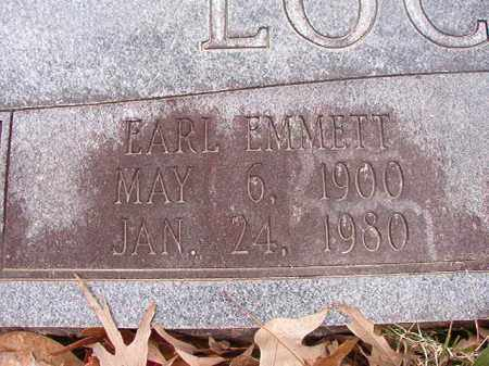 LOCKHART, EARL EMMETT - Union County, Arkansas | EARL EMMETT LOCKHART - Arkansas Gravestone Photos