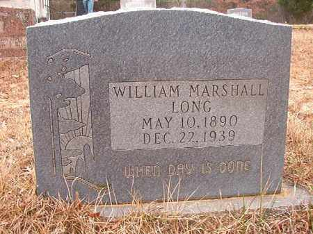 LONG, WILLIAM MARSHALL - Union County, Arkansas | WILLIAM MARSHALL LONG - Arkansas Gravestone Photos