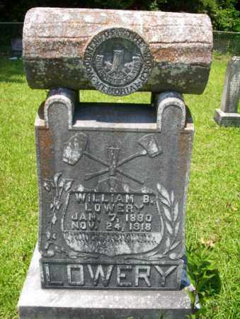 LOWERY, WILLIAM B - Union County, Arkansas | WILLIAM B LOWERY - Arkansas Gravestone Photos