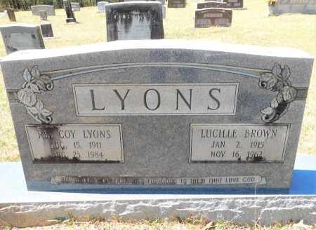 LYONS, COY - Union County, Arkansas | COY LYONS - Arkansas Gravestone Photos