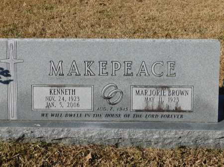 MAKEPEACE, KENNETH - Union County, Arkansas | KENNETH MAKEPEACE - Arkansas Gravestone Photos
