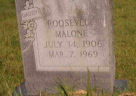 MALONE, ROOSEVELT - Union County, Arkansas | ROOSEVELT MALONE - Arkansas Gravestone Photos